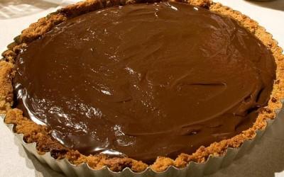 Tarte de Chocolate e Bolacha