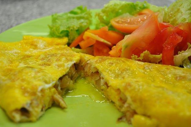 Omelete de Bacalhau