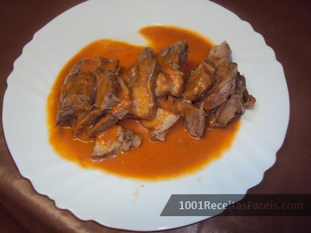Carne de Vaca Estufada