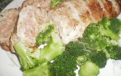 Rolo de Carne Recheado