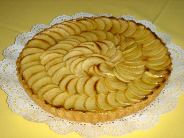 Tarte de maçã simples