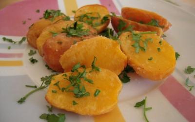 Batatas Louras com Piripiri