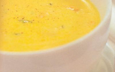 Sopa de Camarão e Cebolinho