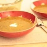Sopa de Lentilhas e Frango com Especiarias