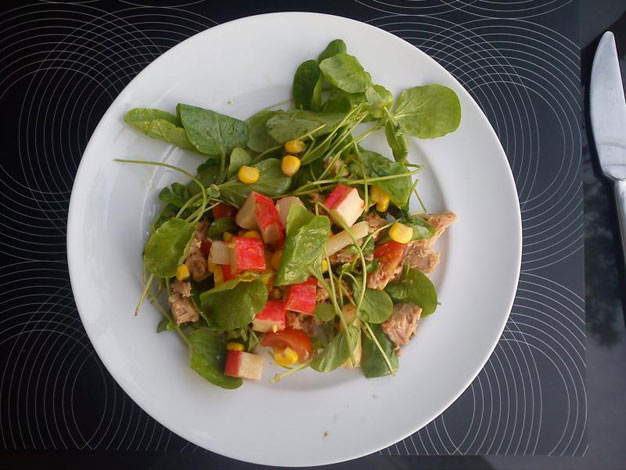 Hot Summer Salad