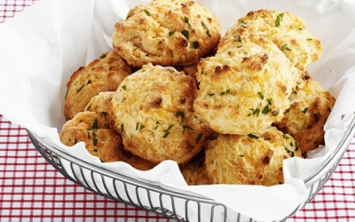 Biscoitos de Cheddar