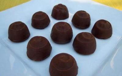 Bombons de Chocolate Recheio de Cereja