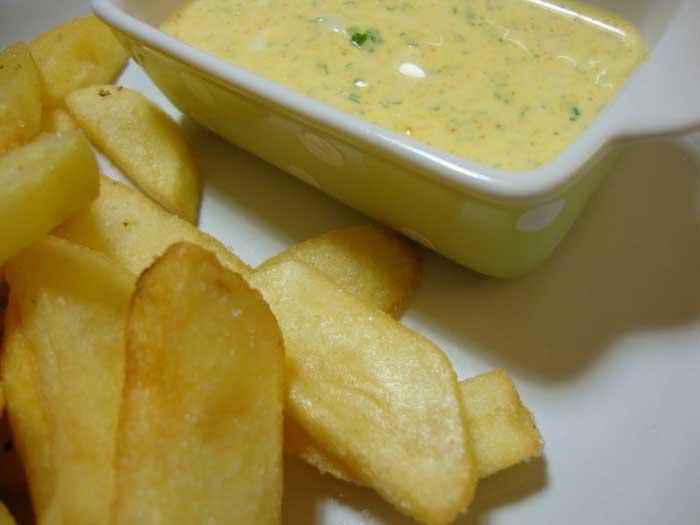 Molho Delicioso para Batatas Fritas