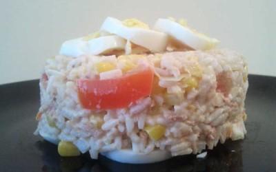 Salada Fresquinha de Arroz