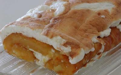 Torta de Laranja Merengada