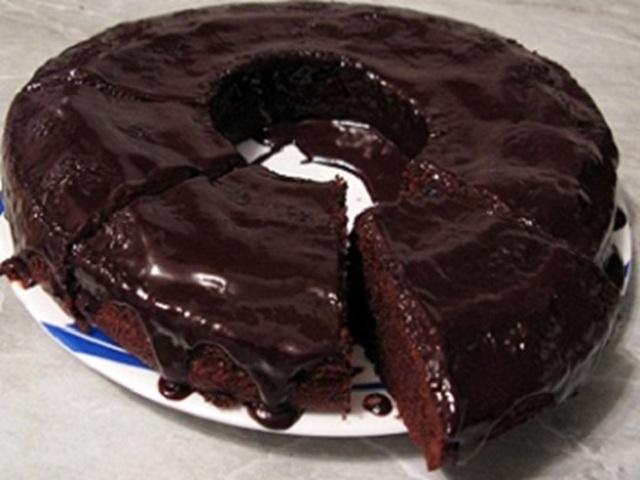 Bolo de Chocolate no Micro-ondas