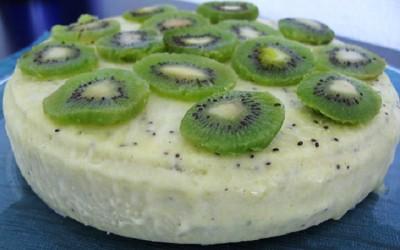 Mousse Gelada de Kiwi