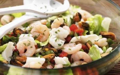 Salada marinha
