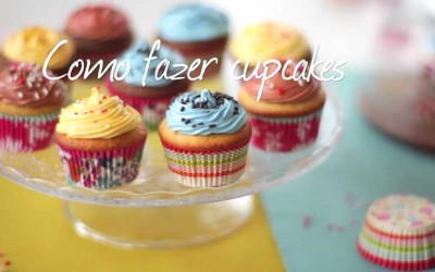 Como fazer cupcakes-Vídeo