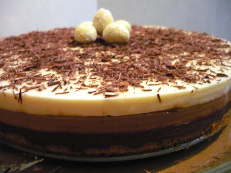 Tarte de 3 chocolates (Yammi/Bimby)- Vídeo