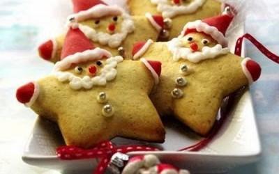 Bolachas de mel Pai Natal