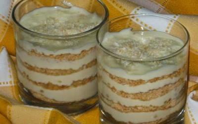 Delícia de Bolacha Maria com Coco e Limão
