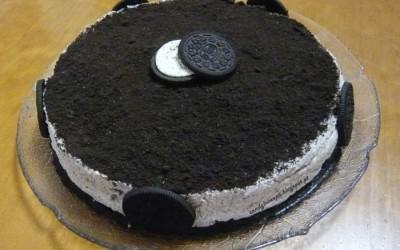 Cheesecake de Bolacha Oreo