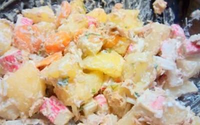 Salada de Atum e Delicias do Mar