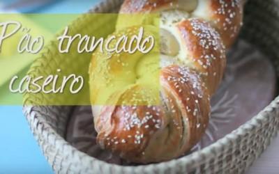 Como fazer pão trançado caseiro
