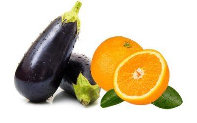 Sumo de laranja com beringela ajuda a perder gordura