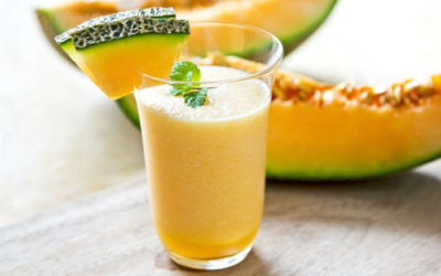 Elimine o inchaço tomando suco de melão