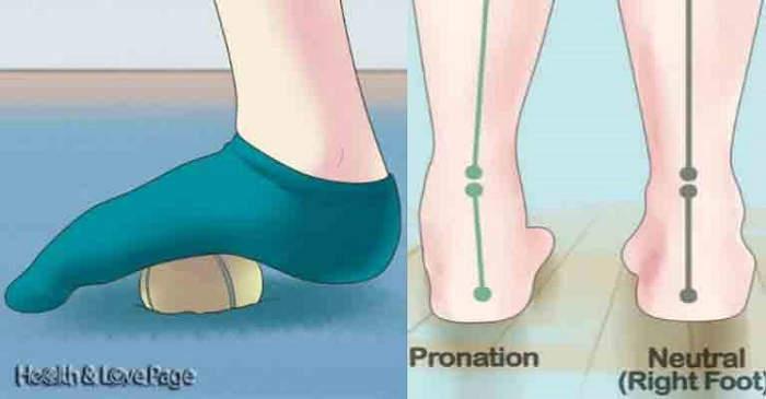 Livre-se da dor nos pés e pernas com uma simples bola de ténis