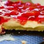 Torta de morango rapida