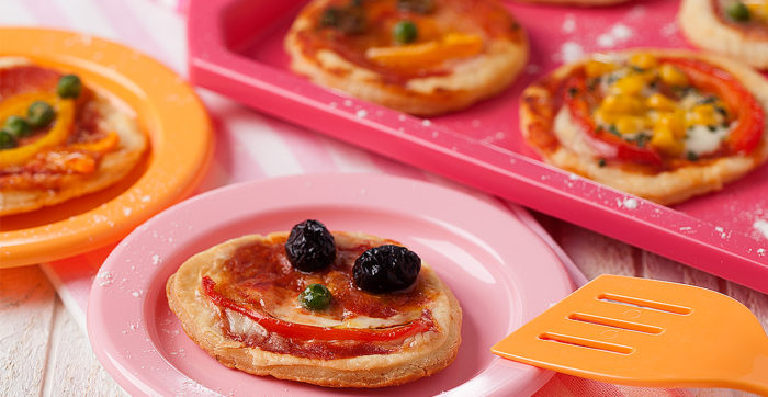 Mini-Pizzas Infantis