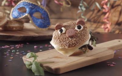 Mini Porquinhos de Hambúrguer