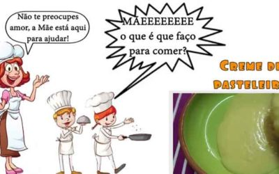 Creme de Pasteleiro #mãeoqueéquefaçoparacomer