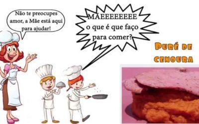Puré de Cenoura #mãeoqueéquefaçoparacomer