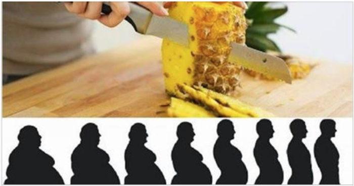 A dieta do abacaxi para perder até 5 kgs em 3 dias