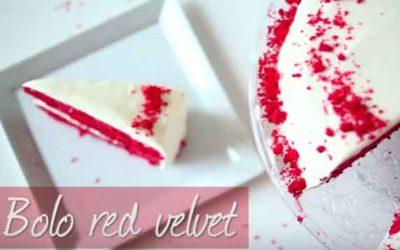 Como fazer o bolo red velvet