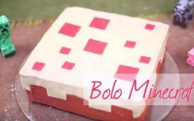 Como fazer um bolo Minecraft