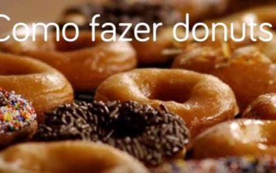 Como fazer donuts
