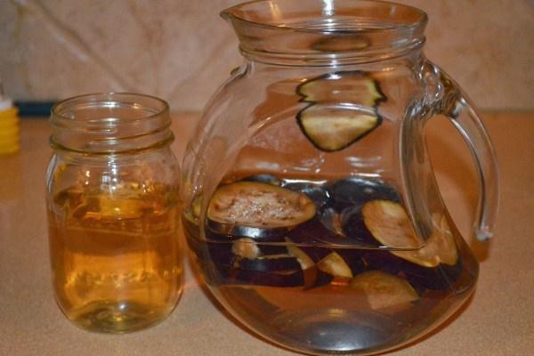 Nova água de beringela mais poderosa para perder peso