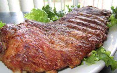 Costela de porco assada