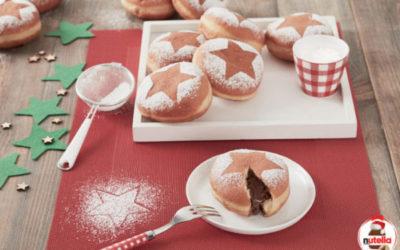 Donuts com Nutella