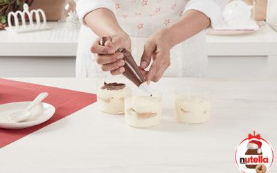 Mini tiramisu com Nutella