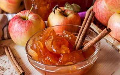 Compota de maçã e lima