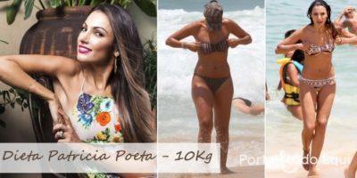 Dieta da Patrícia Poeta: Cardápio e dicas para menos 10 quilos