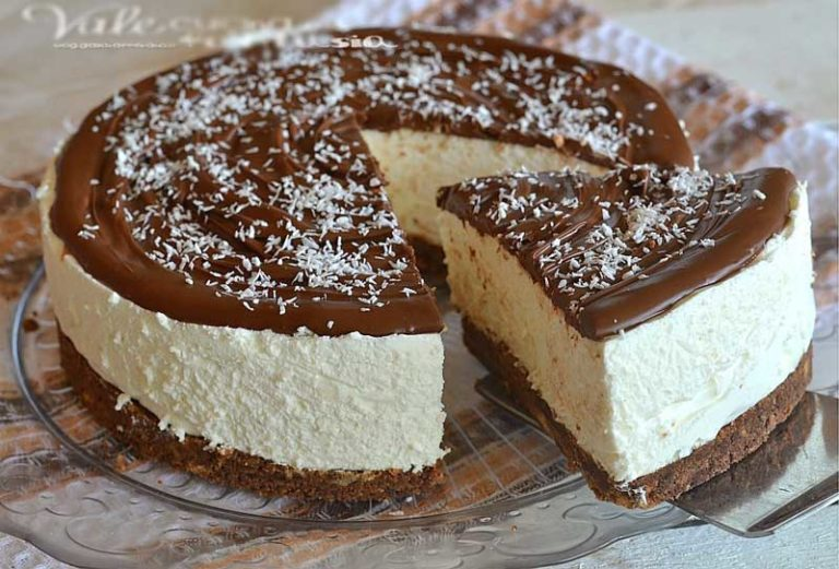 Cheesecake Coco e Nutella