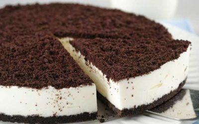 Cheesecake rápido de Oreo