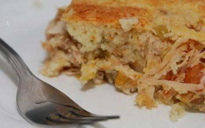 Torta de frango – Delicioso e rápido