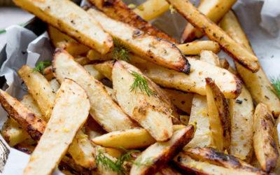 Batatas fritas no forno – Mais saudáveis