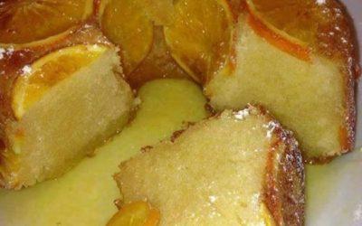 Bolo de Laranja com calda de laranja – Fica muito húmido e com um sabor a laranja incrível