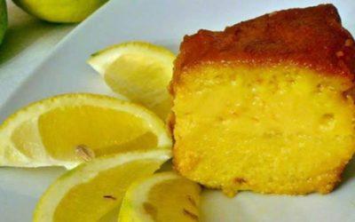 Pudim de Limão caseiro – Fácil