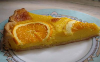 Tarte light de laranja