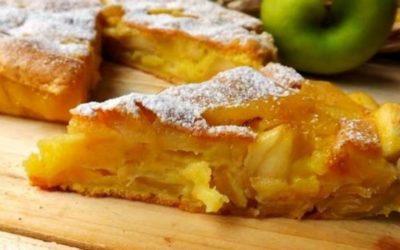 Tarte de maçã e amêndoa – rápida e muito deliciosa
